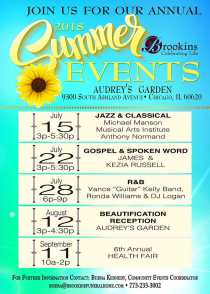 Brookins Summer Music Event