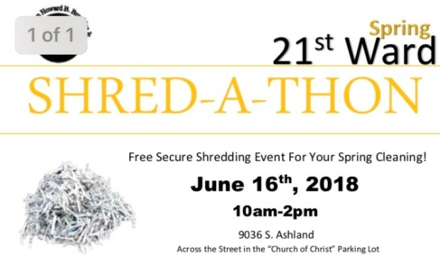June Shred-a-Thon