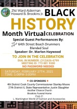 21st Ward Virtual Black History Celebration
