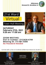 21st Ward Town Hall Event